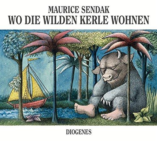 Der Bilderbuch Klassiker Wo die wilden Kerle wohnen.
