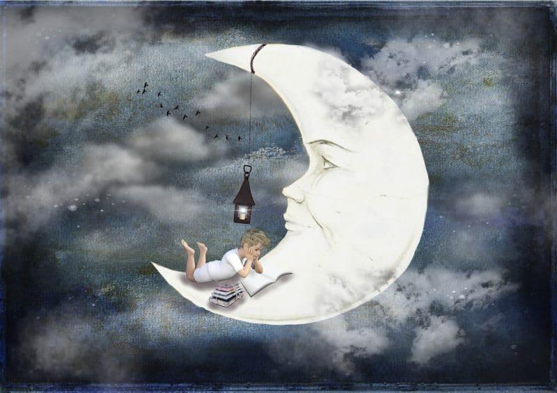 Schlaflied: Der Mond ist aufgegangen